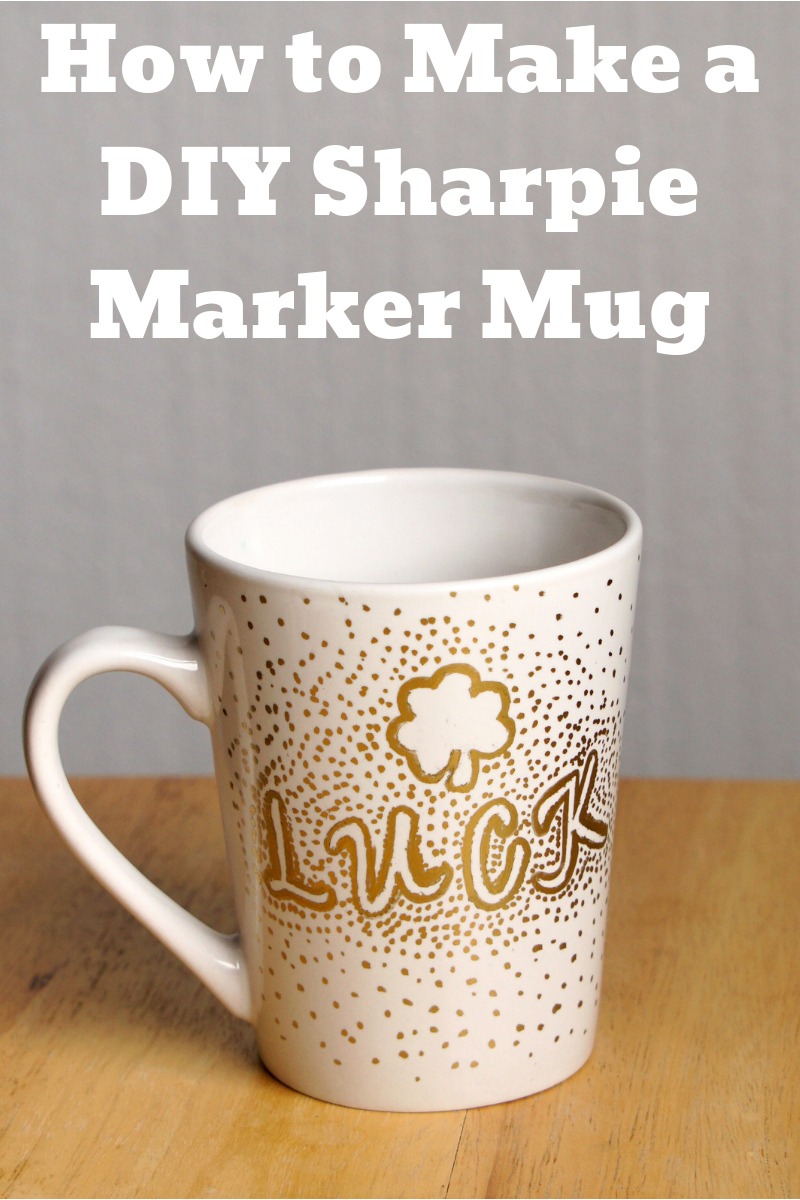 How to make a DIY Sharpie marker mug
