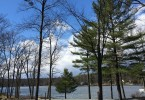 The lake at Woodloch Pines