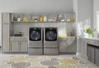 The LG Twin Wash and Sidekick Laundry Pair is energey efficient and can help lower your energy bill