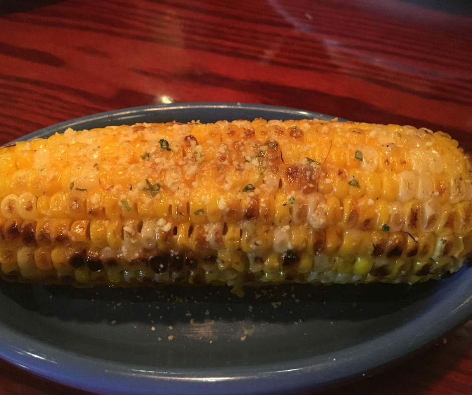 Grilled Parmesan Corn