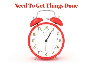 Five Minutes Is All You Need To Get Things Done