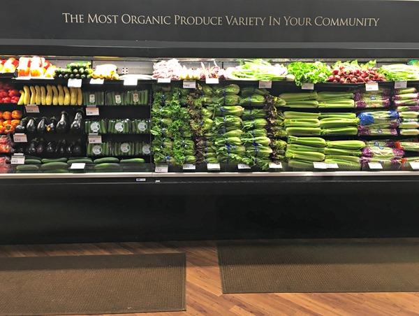 Organic Produce at Kings Food Stores