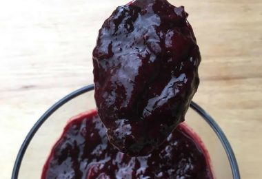 warm mixed berry compote recipe