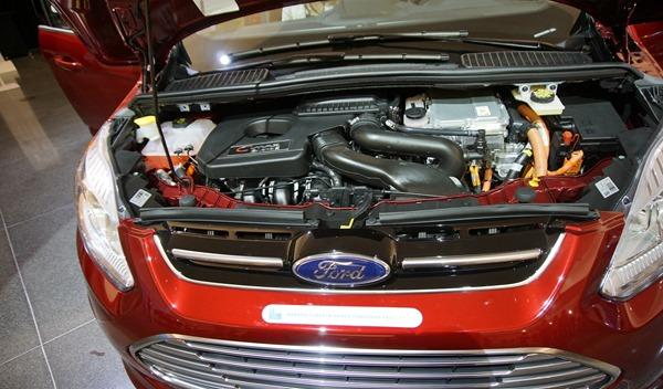 Ford CMax Energi Engine