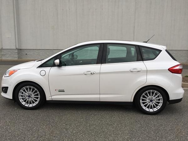 Ford CMax Energi plug-in hybrid electric vehicle