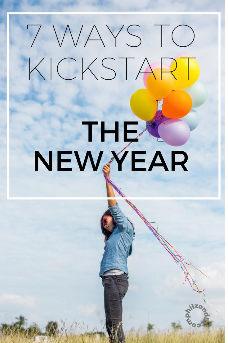 7 Ways To Kickstart The New Year