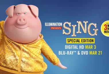 Sing DVD release