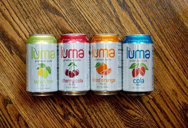 luma healthier soda