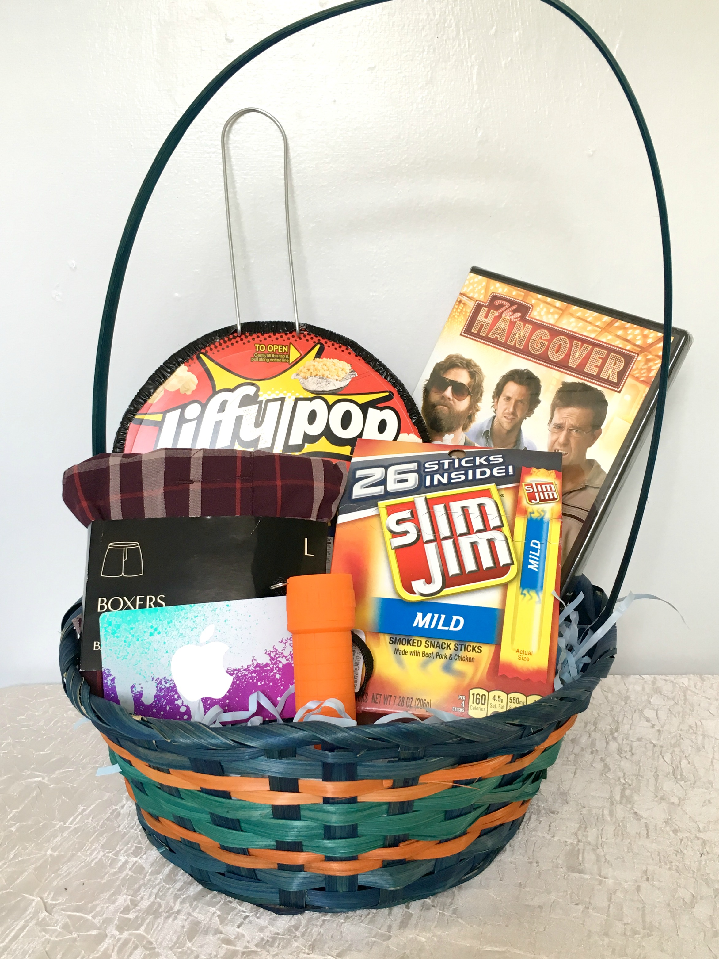 Easter basket ideas for guys easter basket for guys negle Choice Image