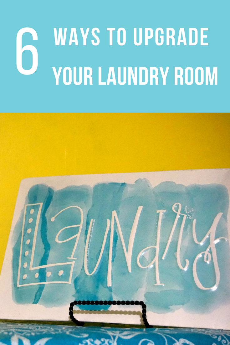6 easy ways to upgrade your laundry room