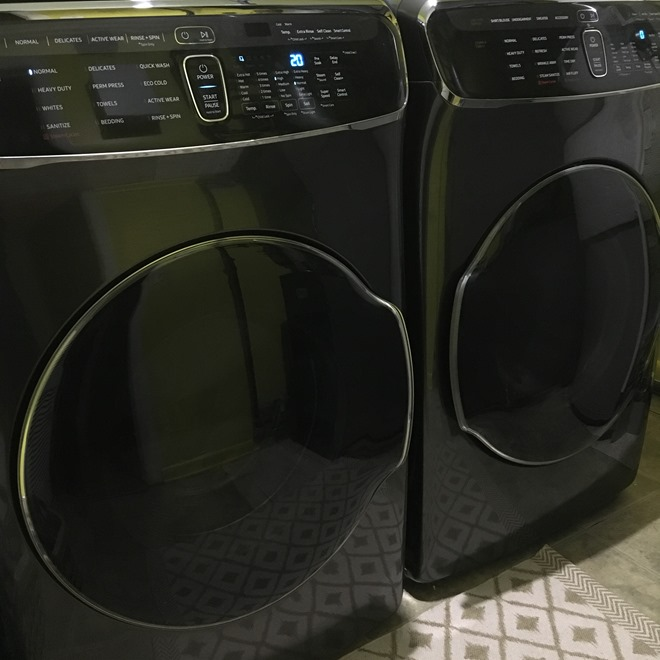 Samsung's FlexWash™ washer and FlexDry™ dryer