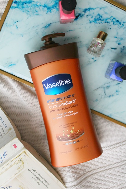 prepare your skin for the summer with the help of Vaseline Intensive Care