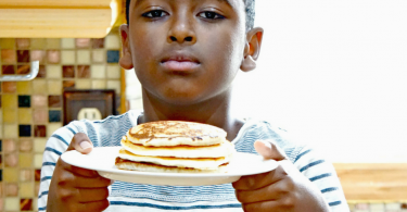 zen made pancakes