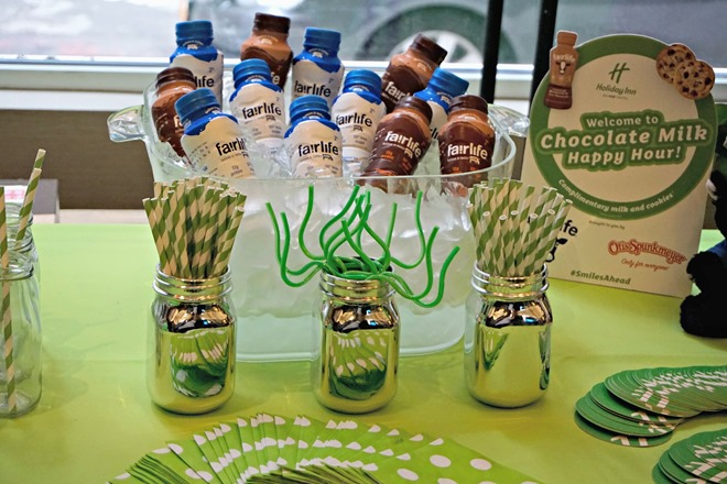 Chocolate Milk Happy Hour at Holiday Inn Manhattan - Financial District