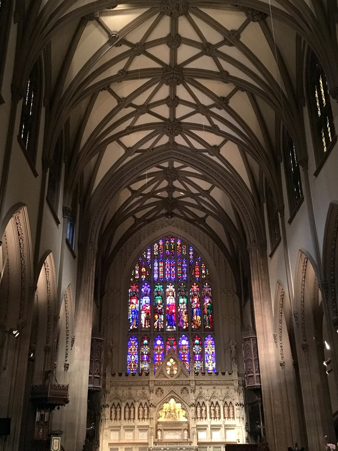 Inside Trinity Church