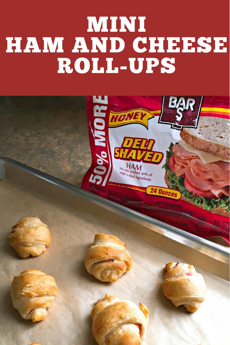 Mini Ham and Cheese Roll-ups Recipe
