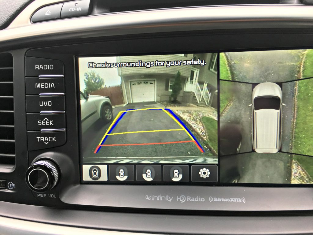 360-degree Surround View Monitor