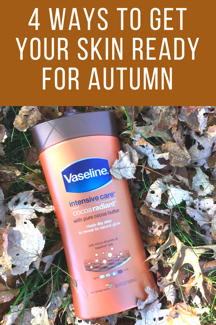 As summer turns into fall, it's time to switch up your skincare routine. Get your skin ready for autumn with these 4 tips