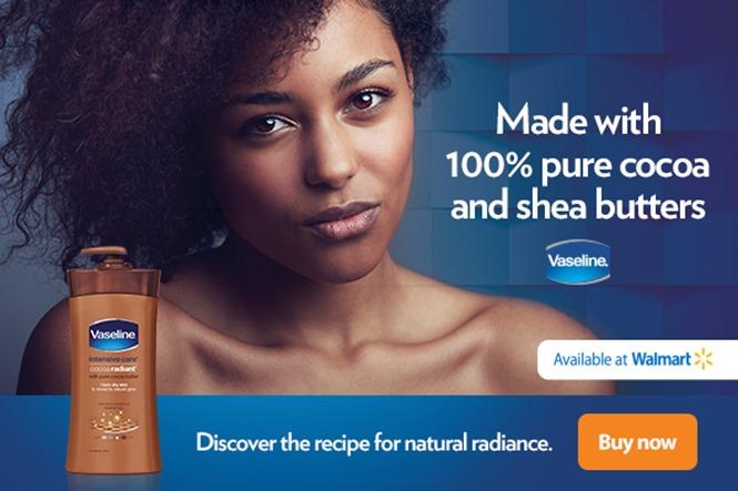 Vaseline Cocoa Radiant lotion