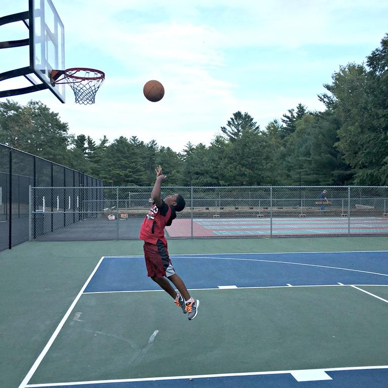 Z.E.N. Playing Basketball