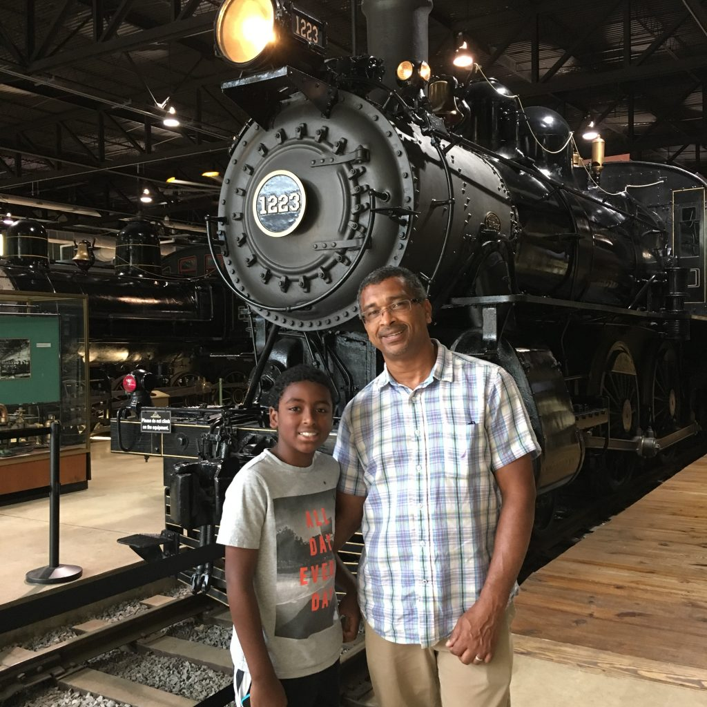 Visiting the Railroad Museum of Pennsylvania