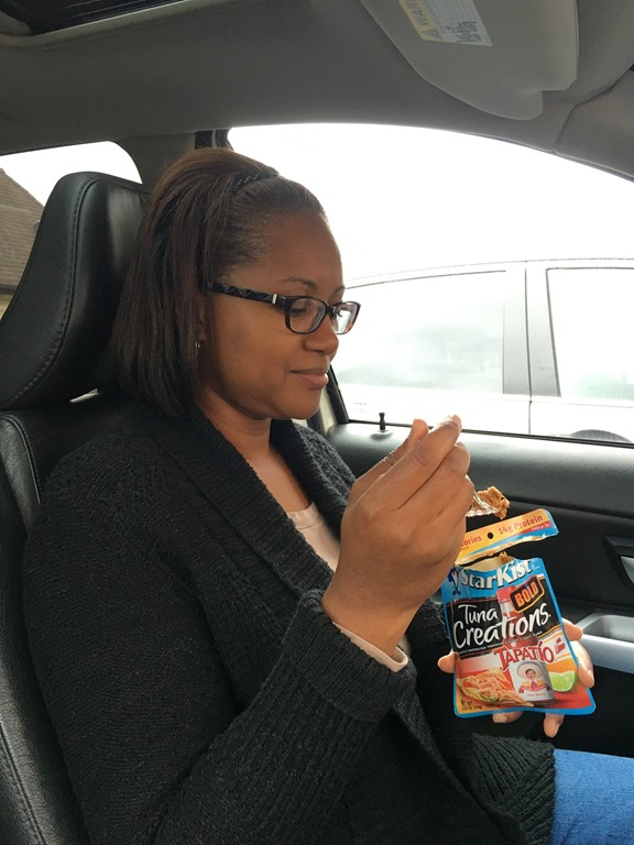 Not time to eat. Try eating in the car during school pickup