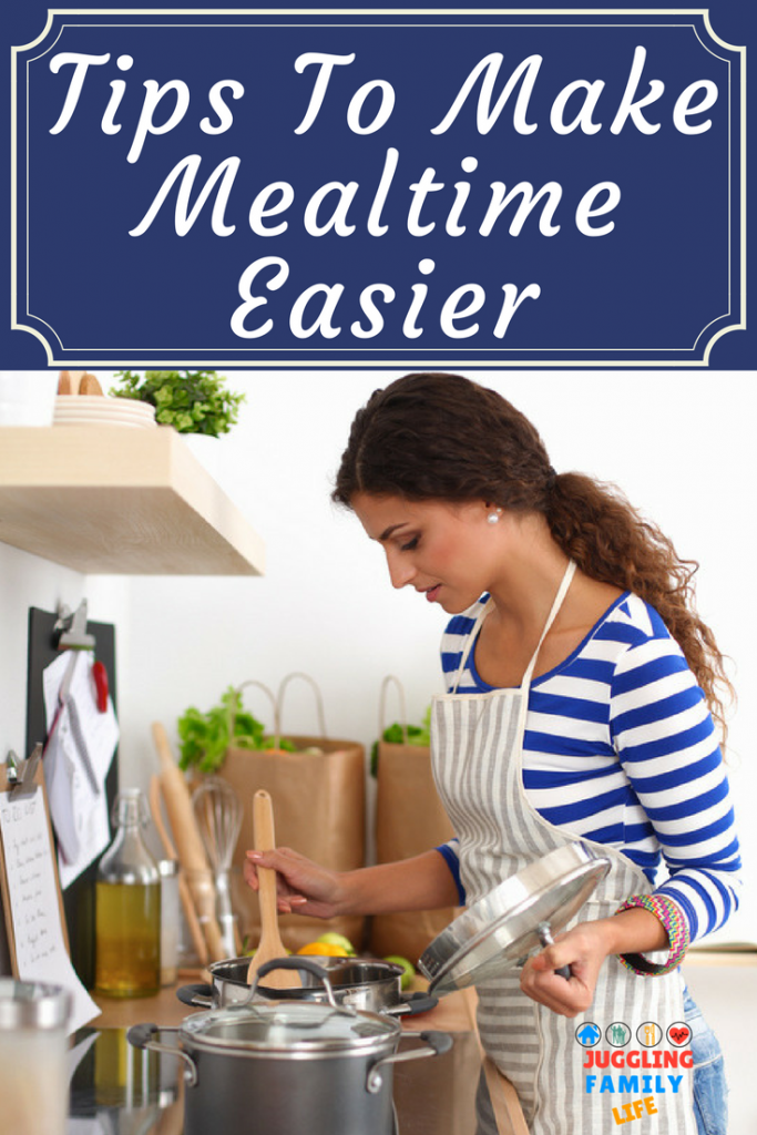 Tips To Make Mealtime Easier