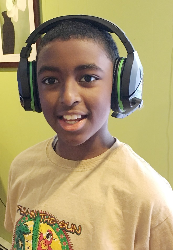 Loving his new WLoving his new Turtle Beach Stealth 700 Gaming Headset for Xbox One