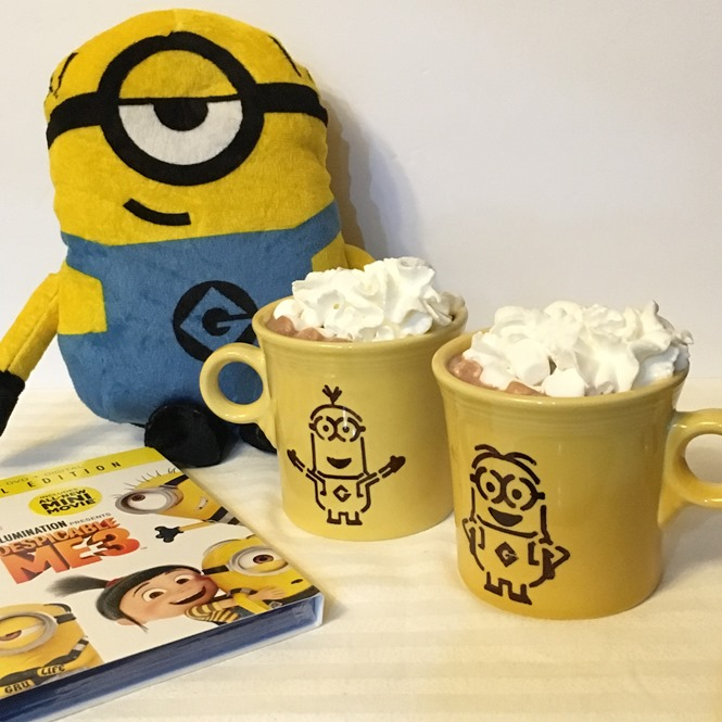DIY Minions Sharpie Mug