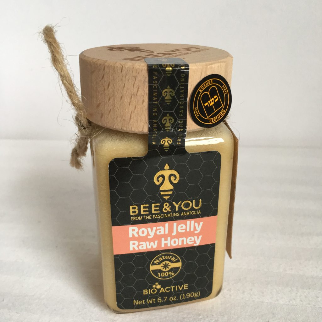 BEE & YOU Royal Jelly Raw Honey