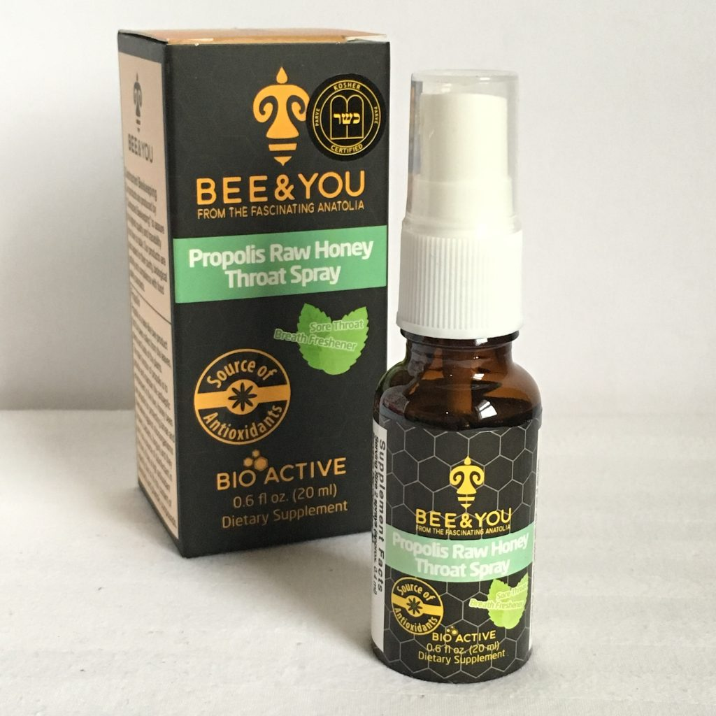 BEE & YOU Propolis Raw Honey Throat Spray