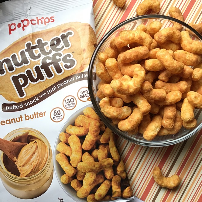 Pop Chips Peanut butter Nutter Puffs
