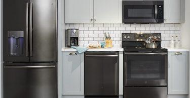 GE Black Stainless Refrigerator