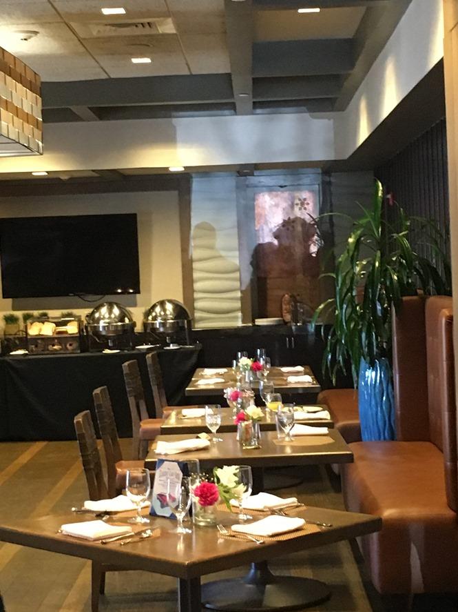 Bistro 72 Restaurant at Hotel Indigo in Riverhead Long Island