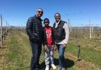 The family at The family at Osprey's Dominion Vineyards
