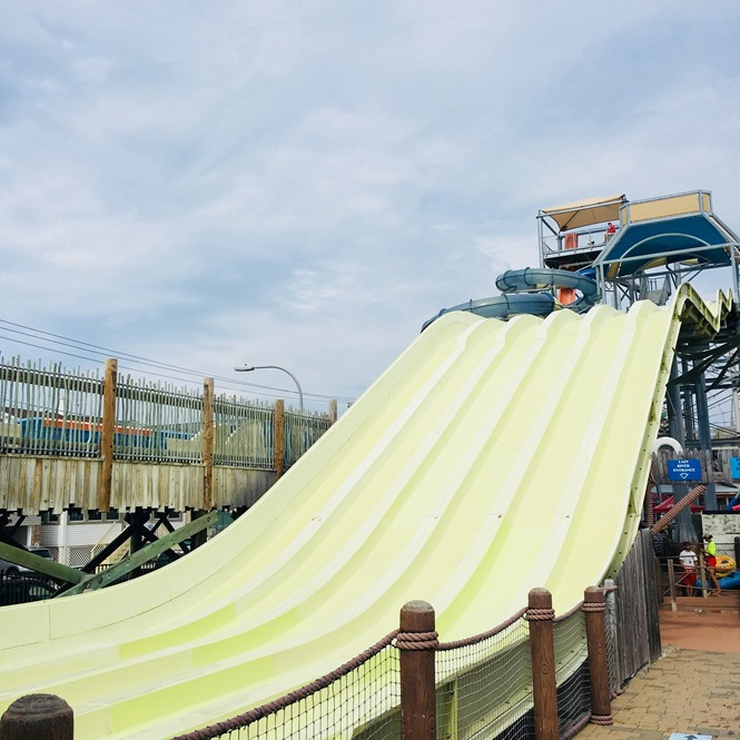 Patriot's Plunge Slide at Breakwater Beach Water Park at Seaside Heights