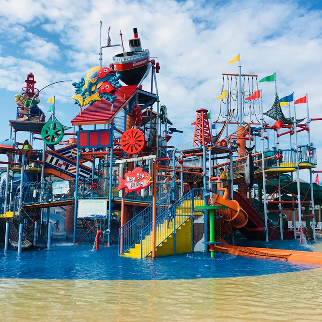 The Perfect Storm Attraction at Breakwater Beach Water Park in New Jersey