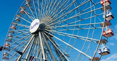 The Ferris Wheel at Casino Pier
