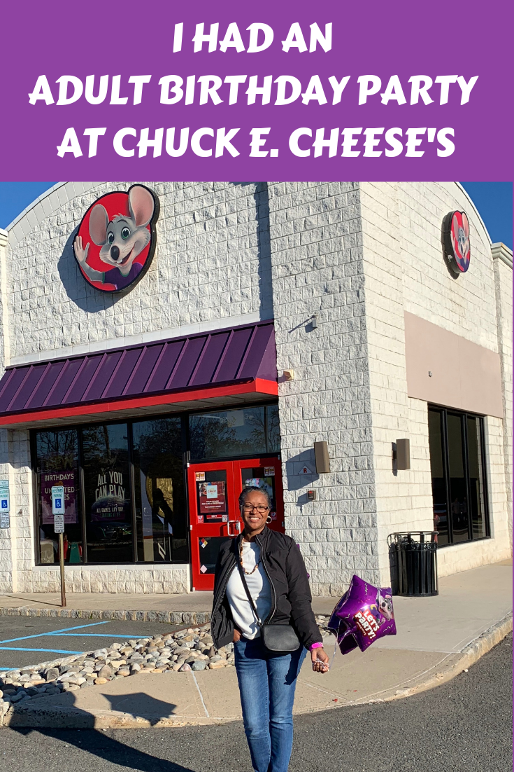 I had an adult birthday party at Chuck E. Cheese's