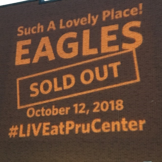 Prudential Center Eagles Concert