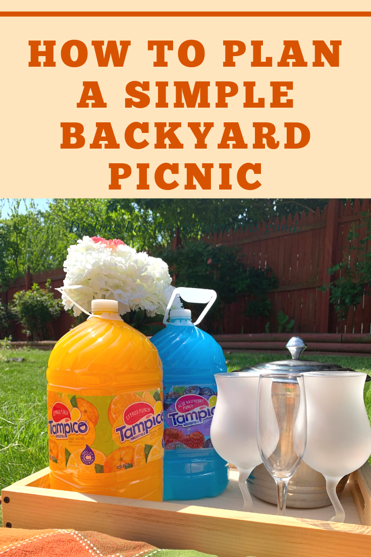 How to Plan a simple Backyard Picnic