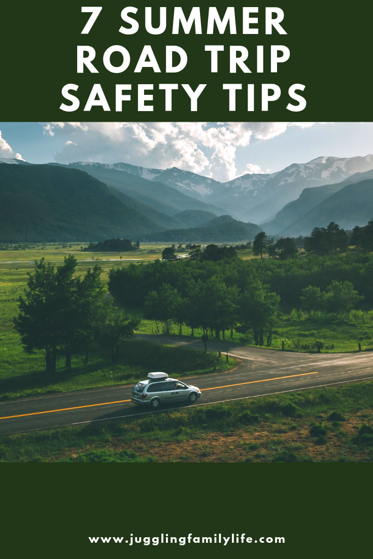 7 Summer Road Trip Safety Tips