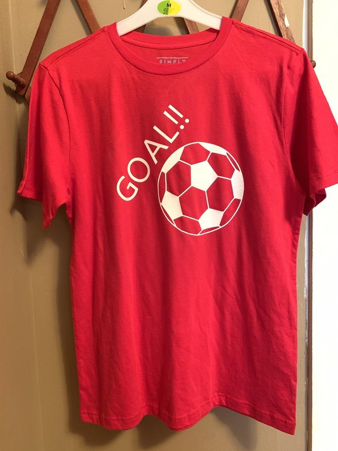 DIY Soccer Shirt