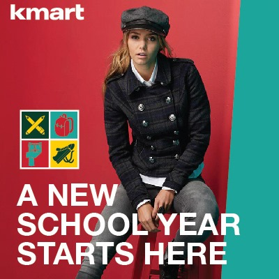 Kmart Back to school savings