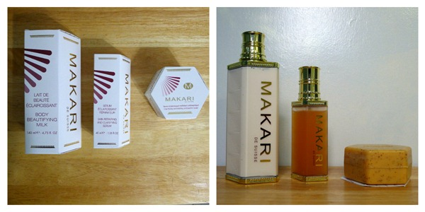 Makari Products Collage