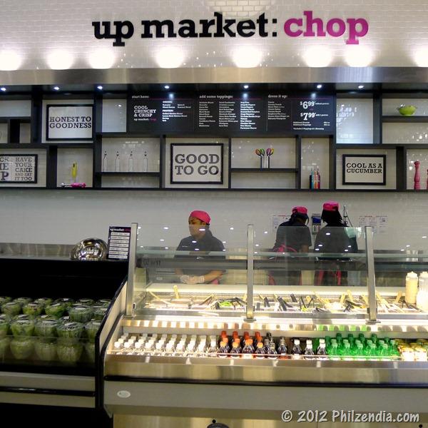 Duane Reade up market Chop salad bar