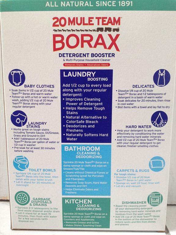 Using 20 mule team borax to freshen my laundry for 20 mule team borax swimming pools