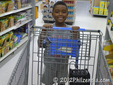Z.E.N. shopping for school supplies