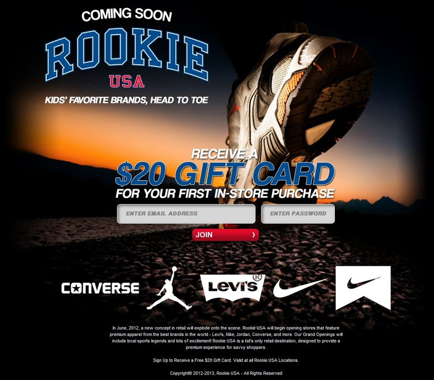 Get Your Little Rookie In Gear With RookieUSA