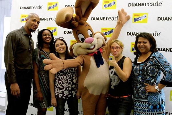 DRVIP Bloggers with Nesquik bunny